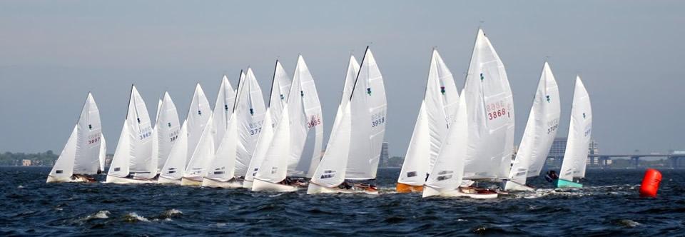 Great Sailing for the Orange Peel Regatta